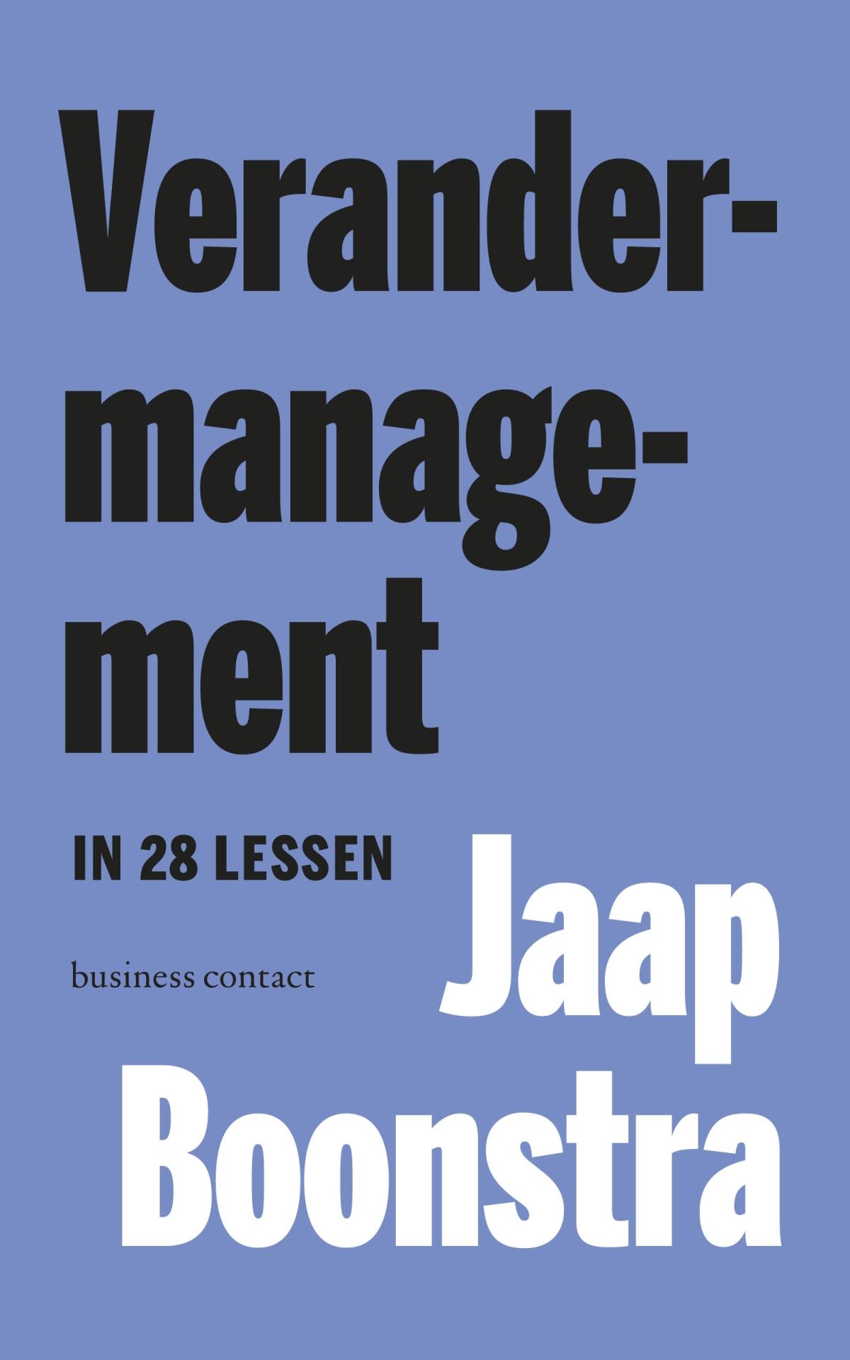 Verandermanagement - Jaap Boonstra