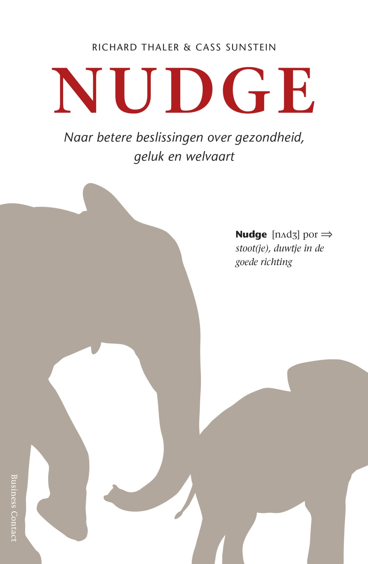 Nudge - Richard ThalerCass Sunstein