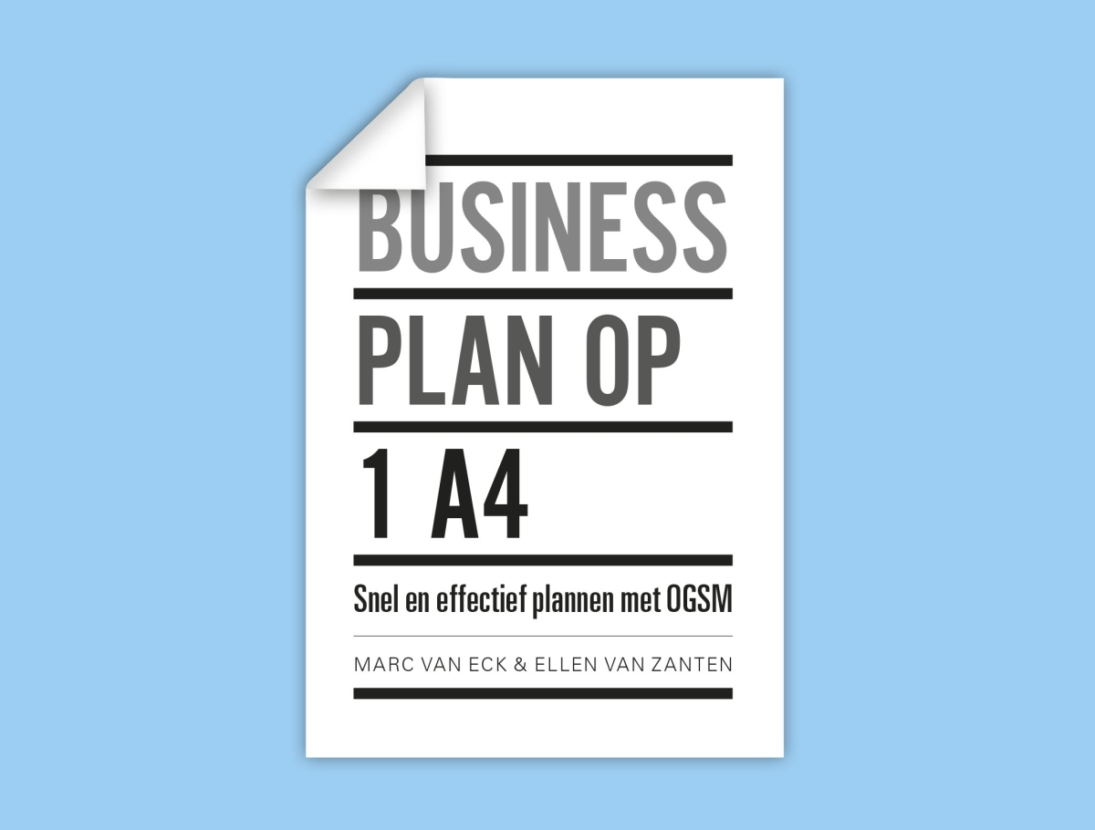 Businessplan op 1 A4 - Marc van EckEllen Leenhouts