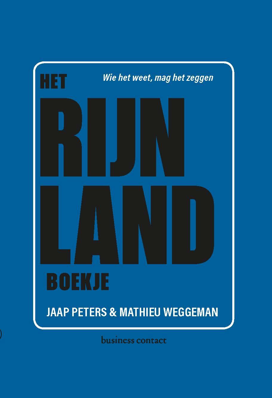 Het Rijnland-boekje - Jaap PetersMathieu Weggeman