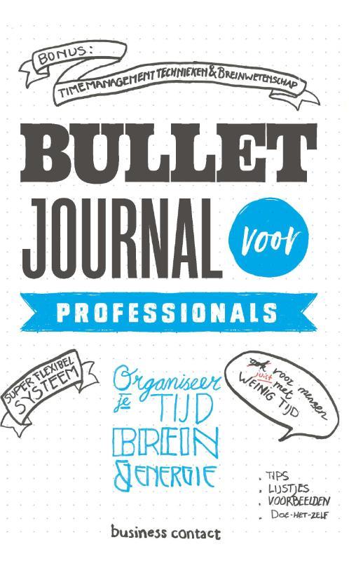 Bullet Journal voor professionals -