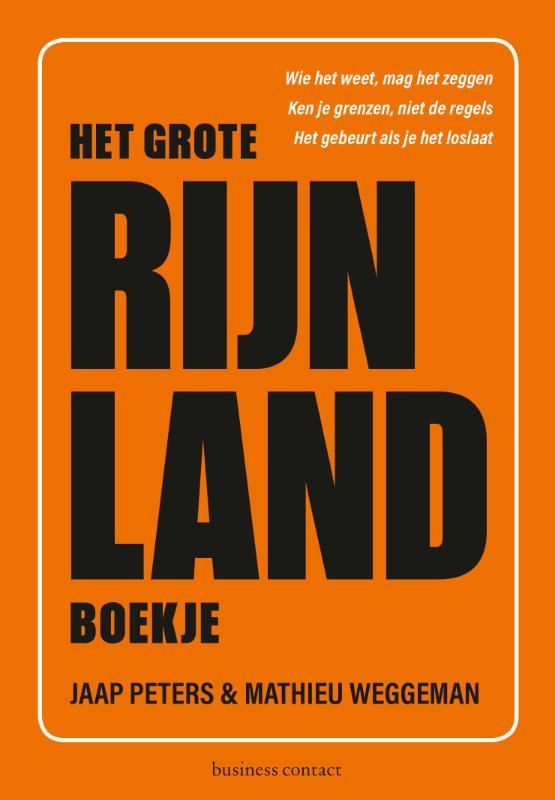 Het Grote Rijnlandboekje - Jaap PetersMathieu Weggeman