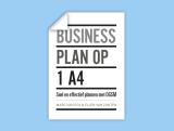 Businessplan op 1 A4 -