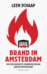 Brand in Amsterdam -
